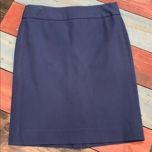 Banana Republic Navy Skirt